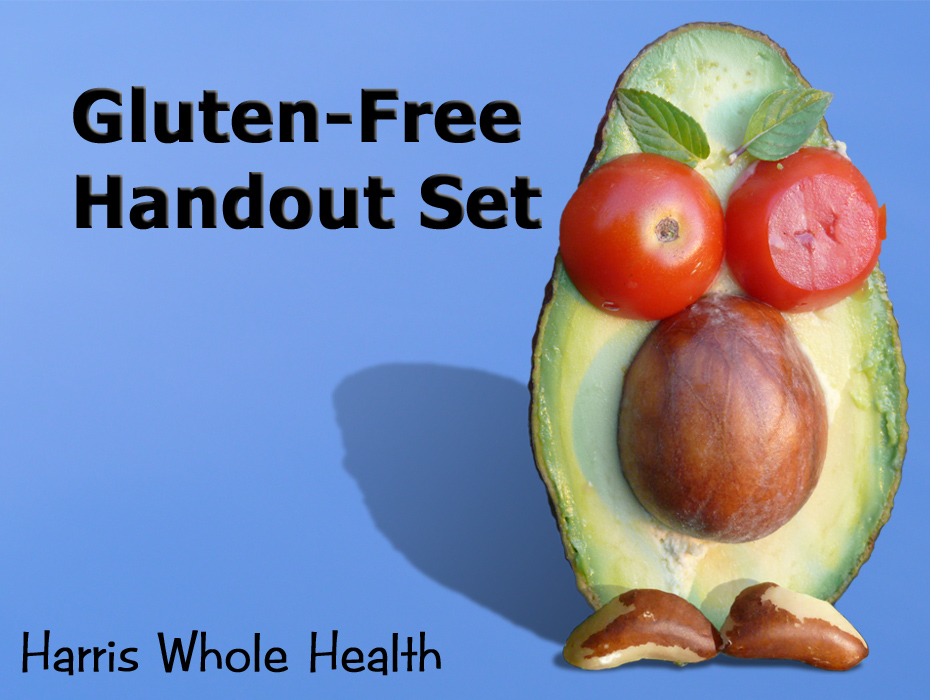 Gluten-free Handouts Kit-BASIC version-Resources for your ...