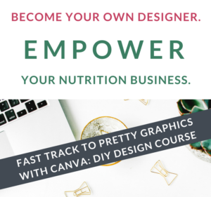 become your own designer for nutrition business