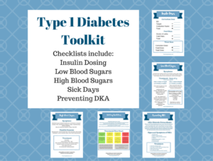 education handouts for type 1 diabetes