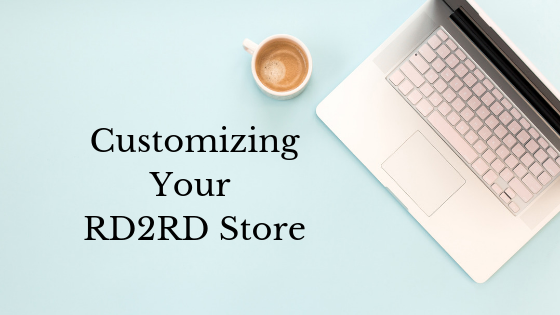 Customizing Your RD2RD Store and Vendor Profile