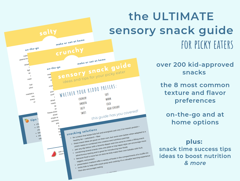 The Ultimate Sensory Guide For Picky Eaters
