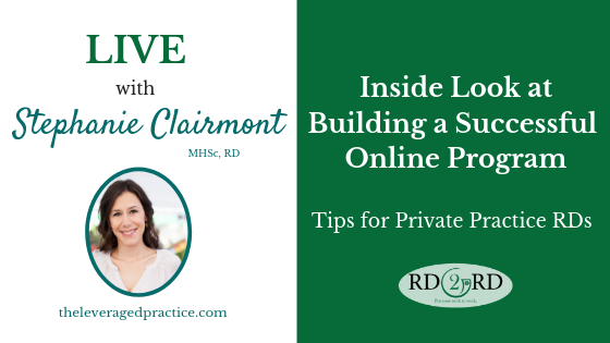 Building a Successful Online Program