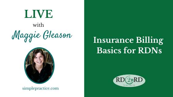 Insurance Billing Basics for RDNs