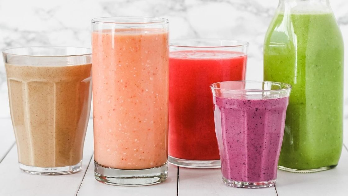 Making a variety of smoothies is a wellness activity the whole office will love