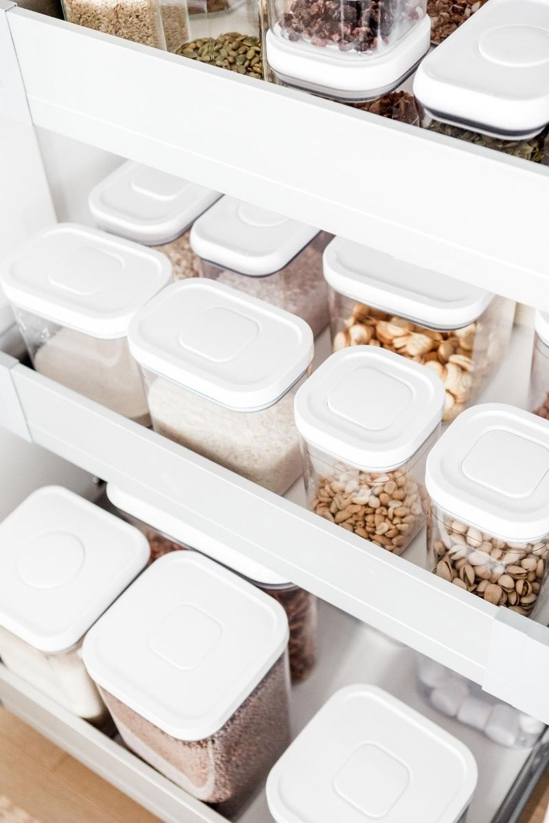 One wellness activity option is to organize your pantry