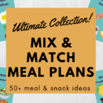 page preview images of mix and match meal plans