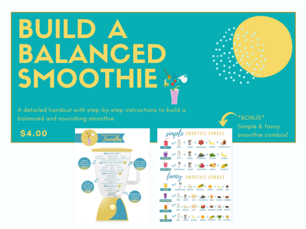 Smoothie builder cover
