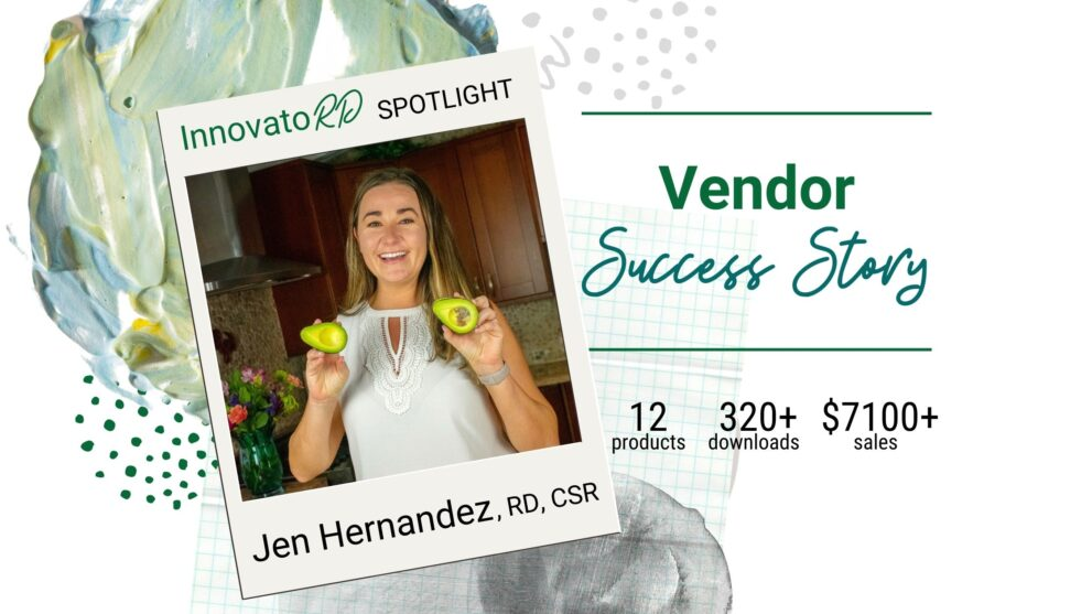 The InnovatoRD: Jen Hernandez Hits Jackpot with her Private Practice Templates