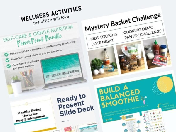 featured images from product listings in wellness activities collection