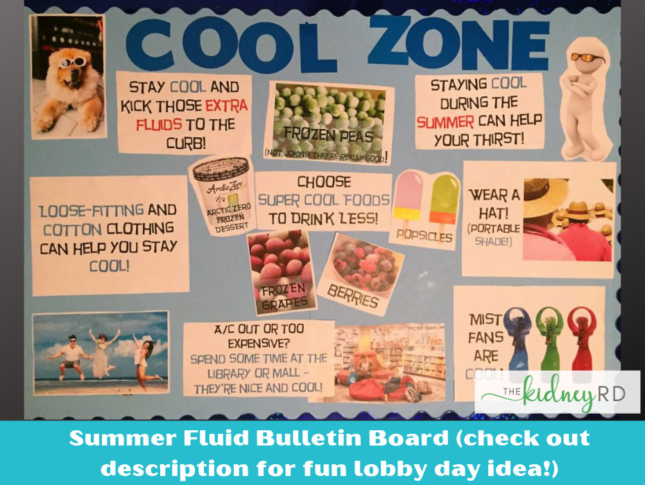 Cool Zone Summer Mini Bulletin Board