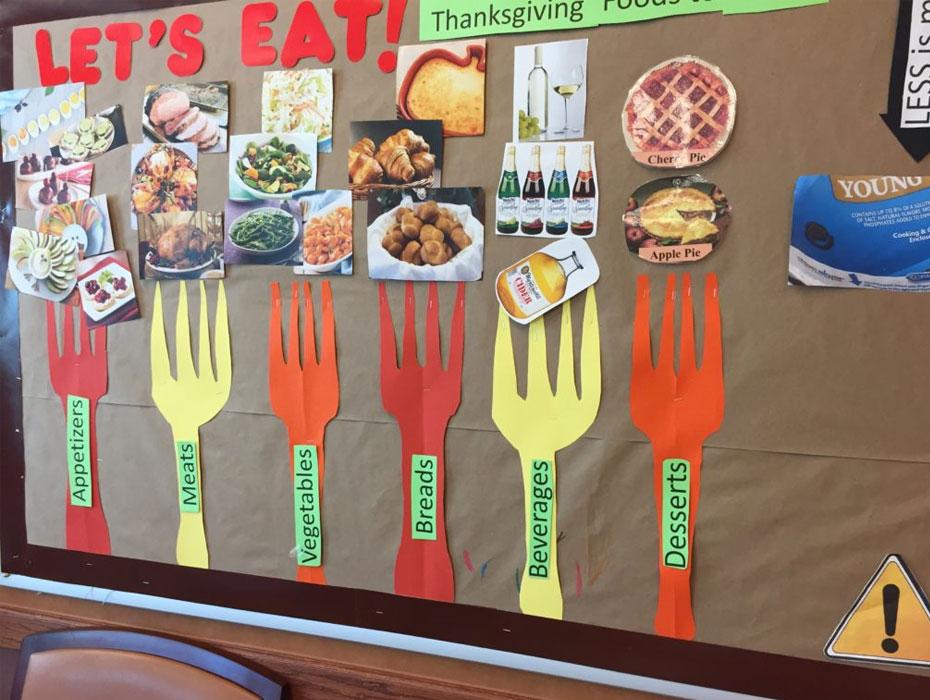 "Dialysis Bulletin Board: Thanksgiving ""Let's Eat!"""