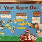 Football Themed Dialysis Bulletin Board