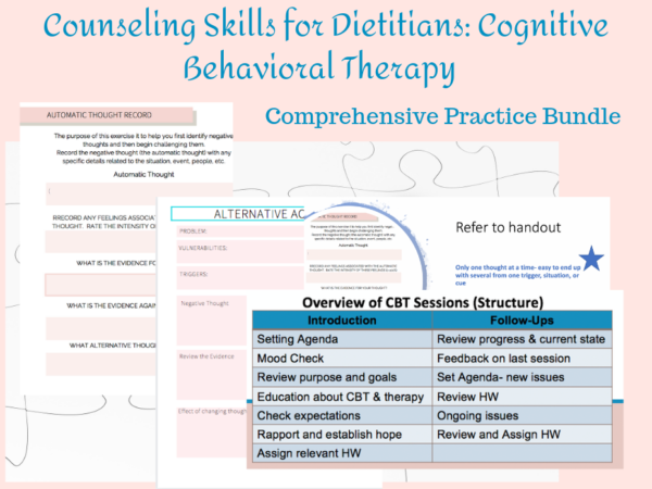 page previews cognitive behavioral therapy bundle