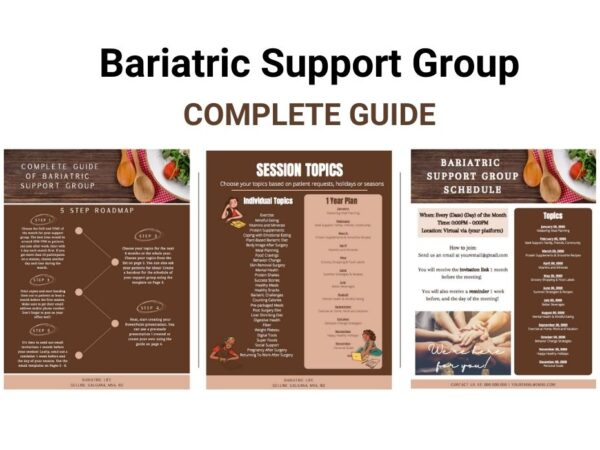 bariatric support group guide